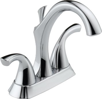 Delta 2592-SS Addison Two-handle Centerset Bathroom Faucet Stainless Steel